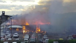 Northampton Pub Fire