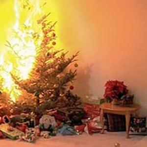 Blog- Christmas tree fire