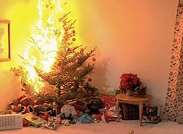 Blog- Christmas tree fire