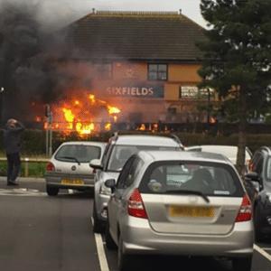 Blog- fire at sixfields