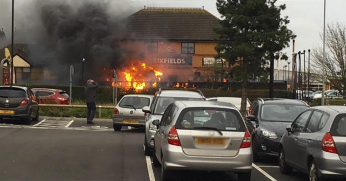 Blog- fire at sixfields