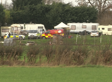 Blog- Fire at caravan site
