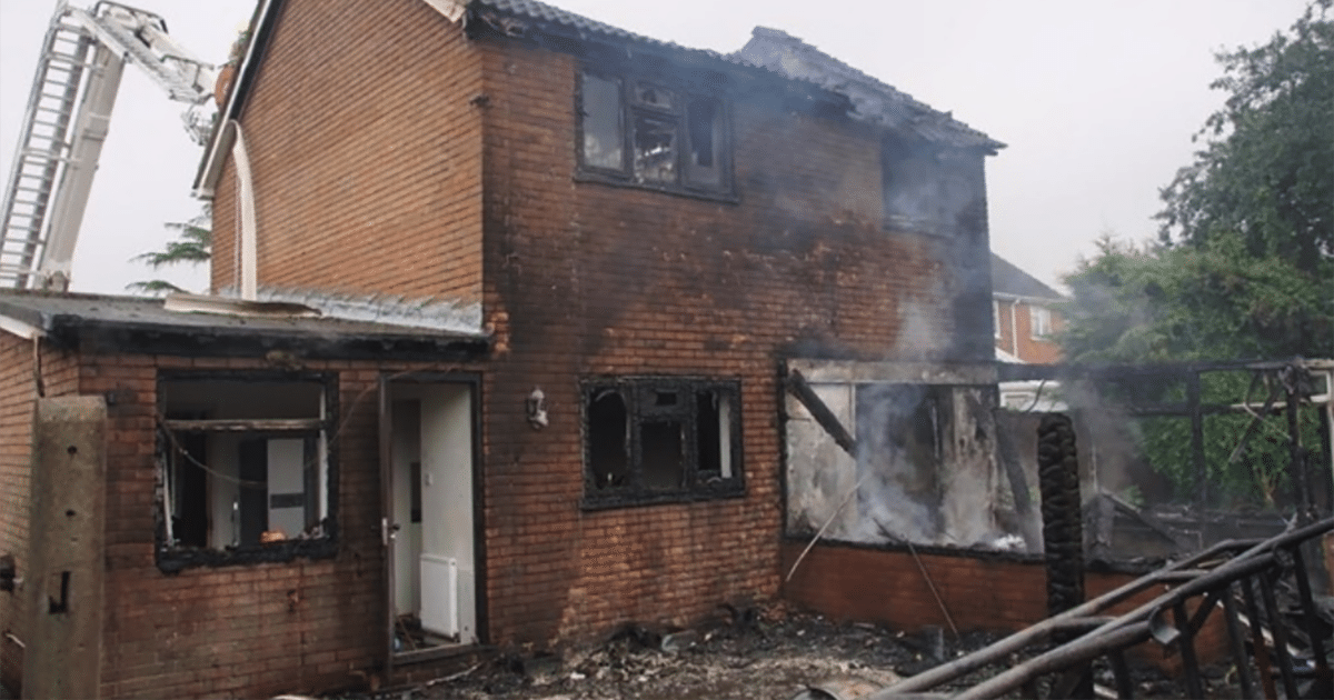 75% of bedforshire home fire